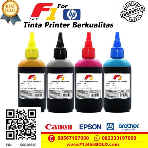 Tinta Printer HP F1 100ml Tahan Air Murah