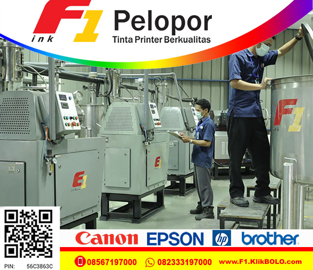 Tinta Printer Epson F1 100ml Tahan Air Murah