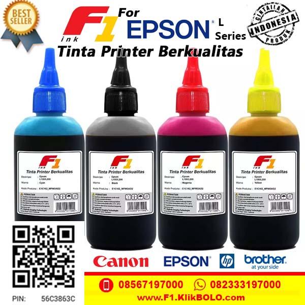 Tinta F1 Epson L Series Termurah